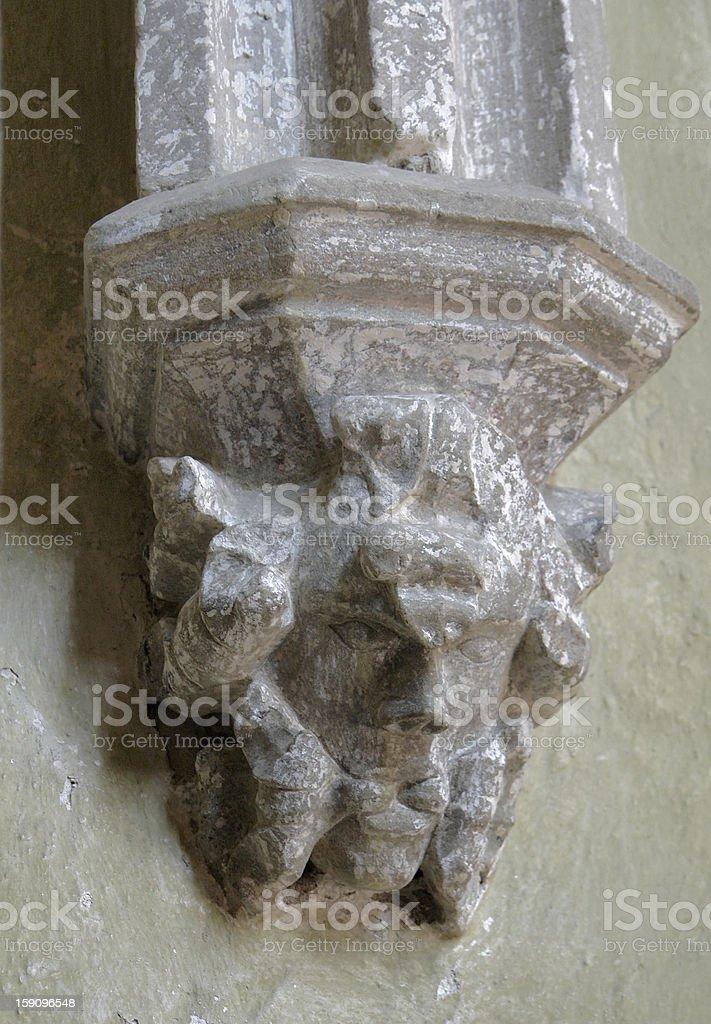 architectural detail in Romania stock photo