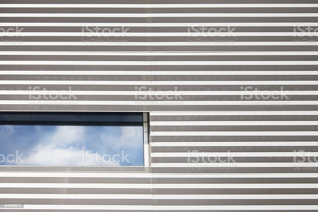 Architectural detail modern building royalty-free stock photo