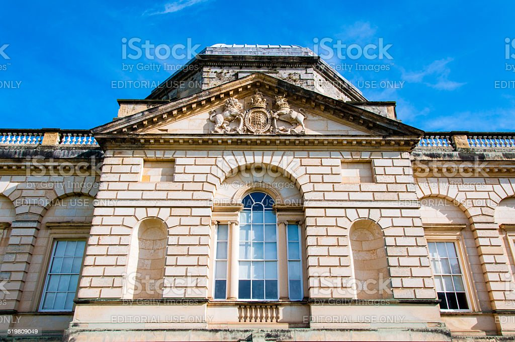 Architectural detail of Castle Howard, North Yorkshire, UK stock photo