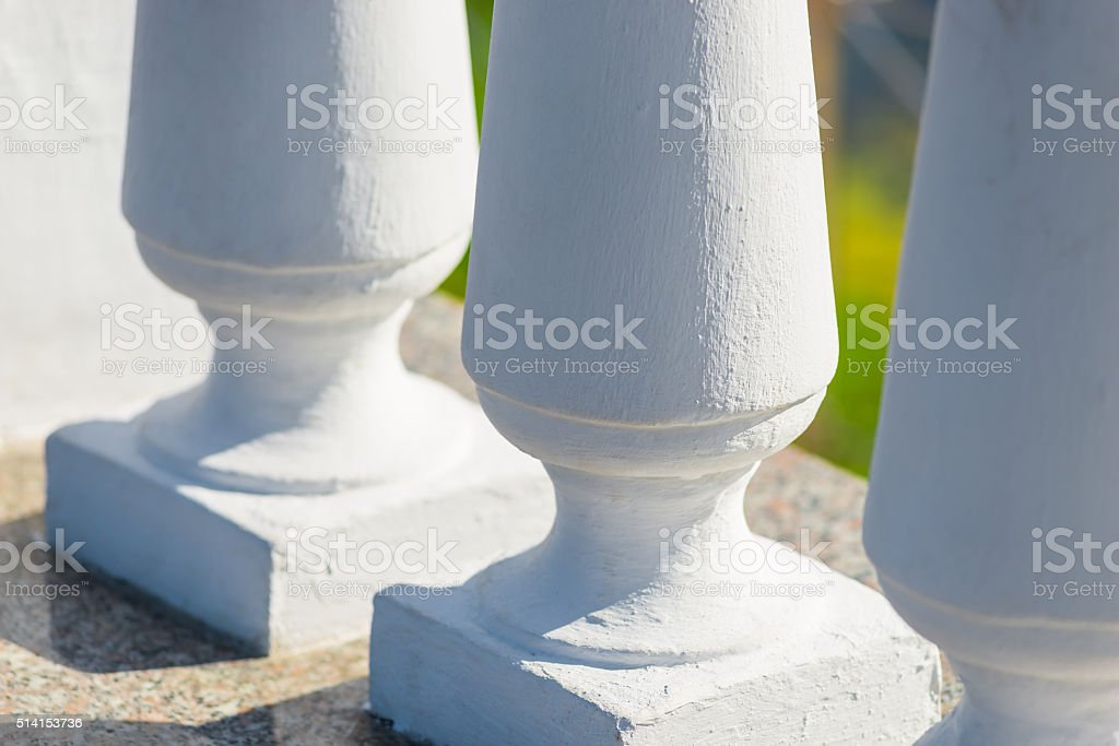architectural detail of vintage style close-up stock photo