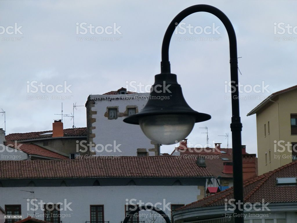 Architectural detail stock photo