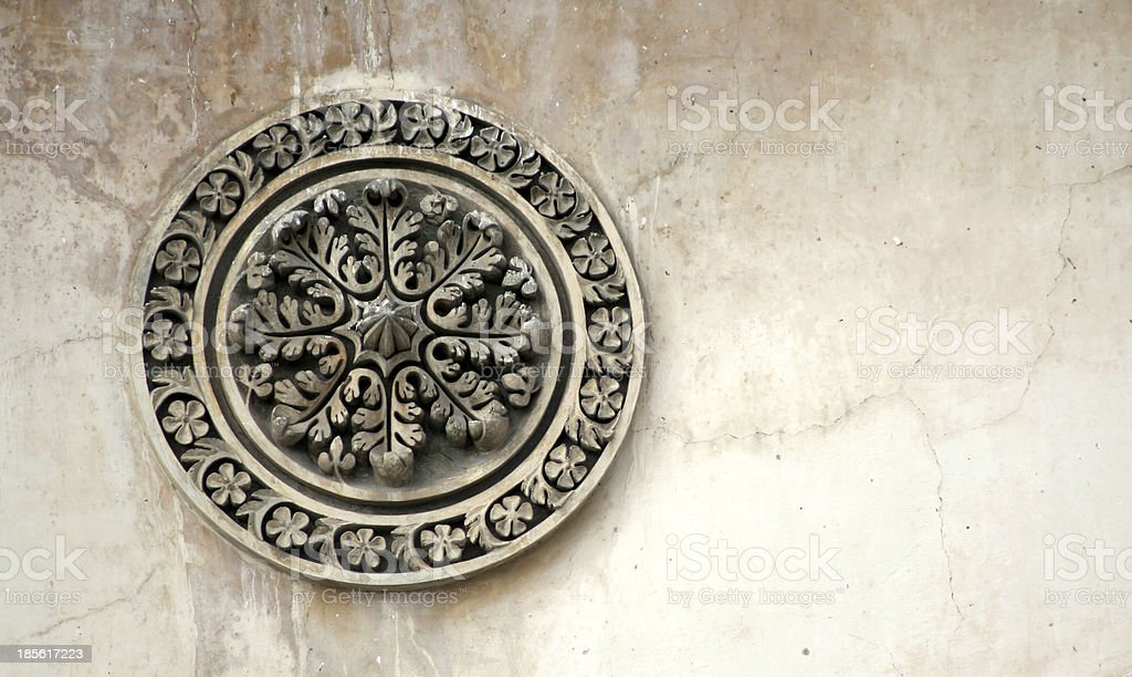 architectural details of 400 year old Charminar,Hyderabad,India stock photo