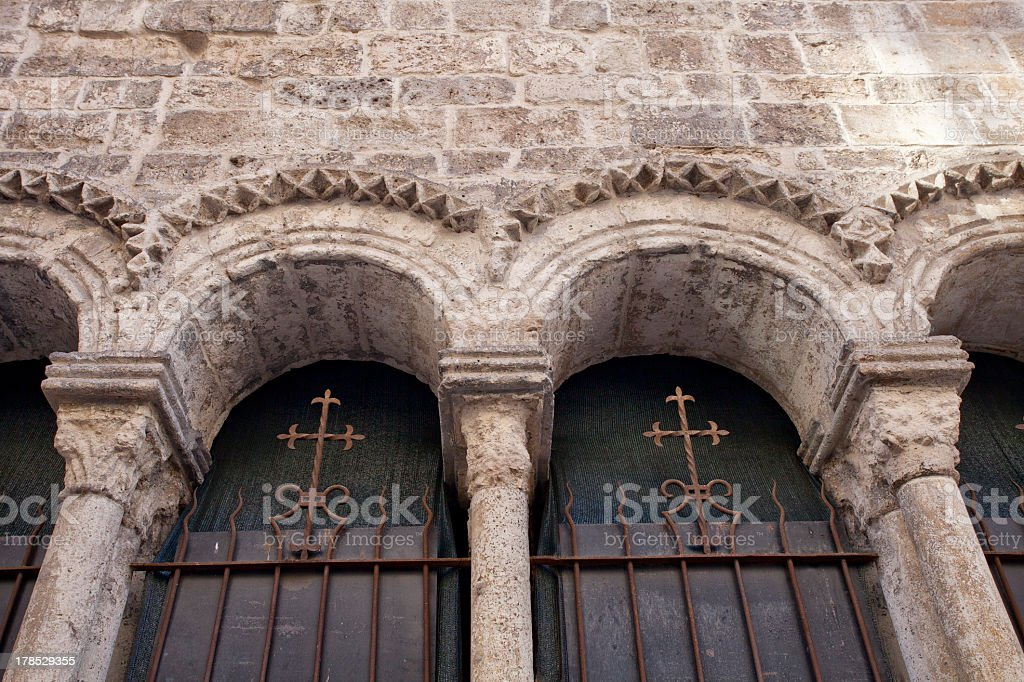 Architectural Details with Archs royalty-free stock photo
