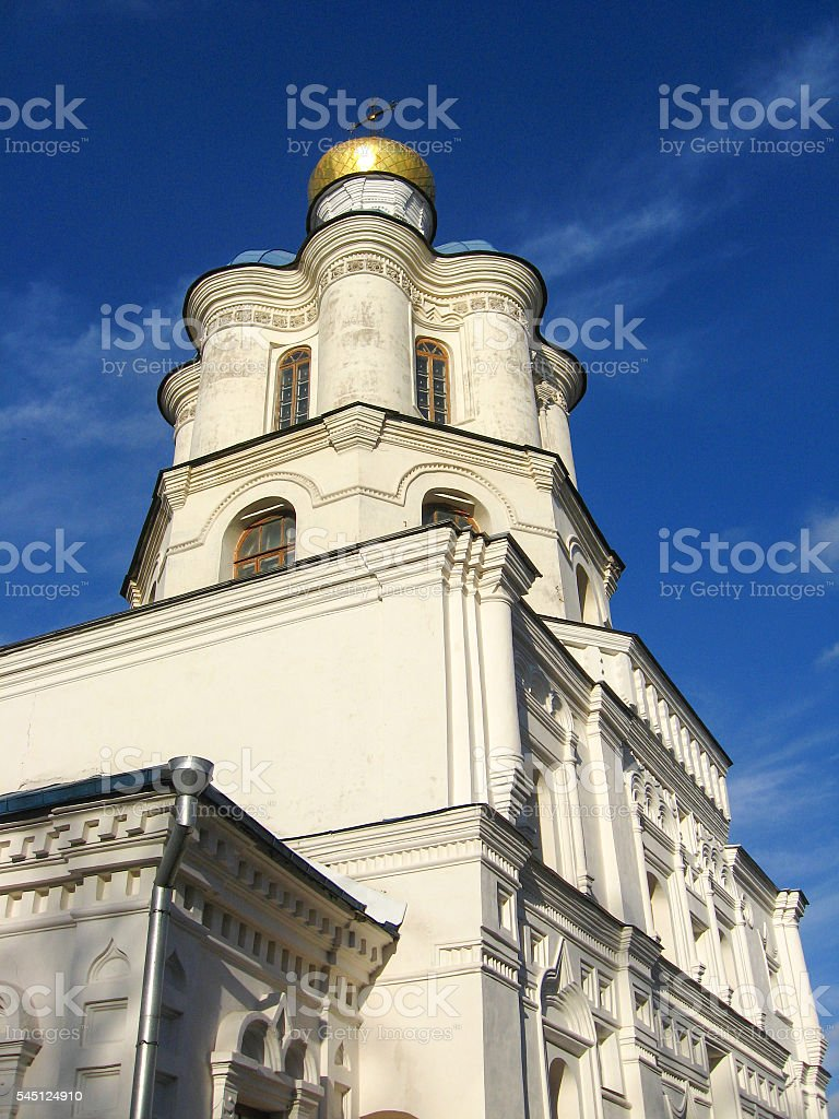 Architectural ensemble of great building stock photo