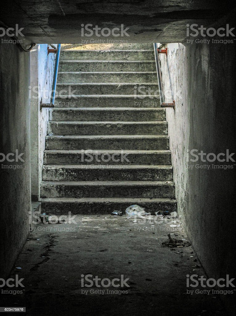 Architectural features stock photo
