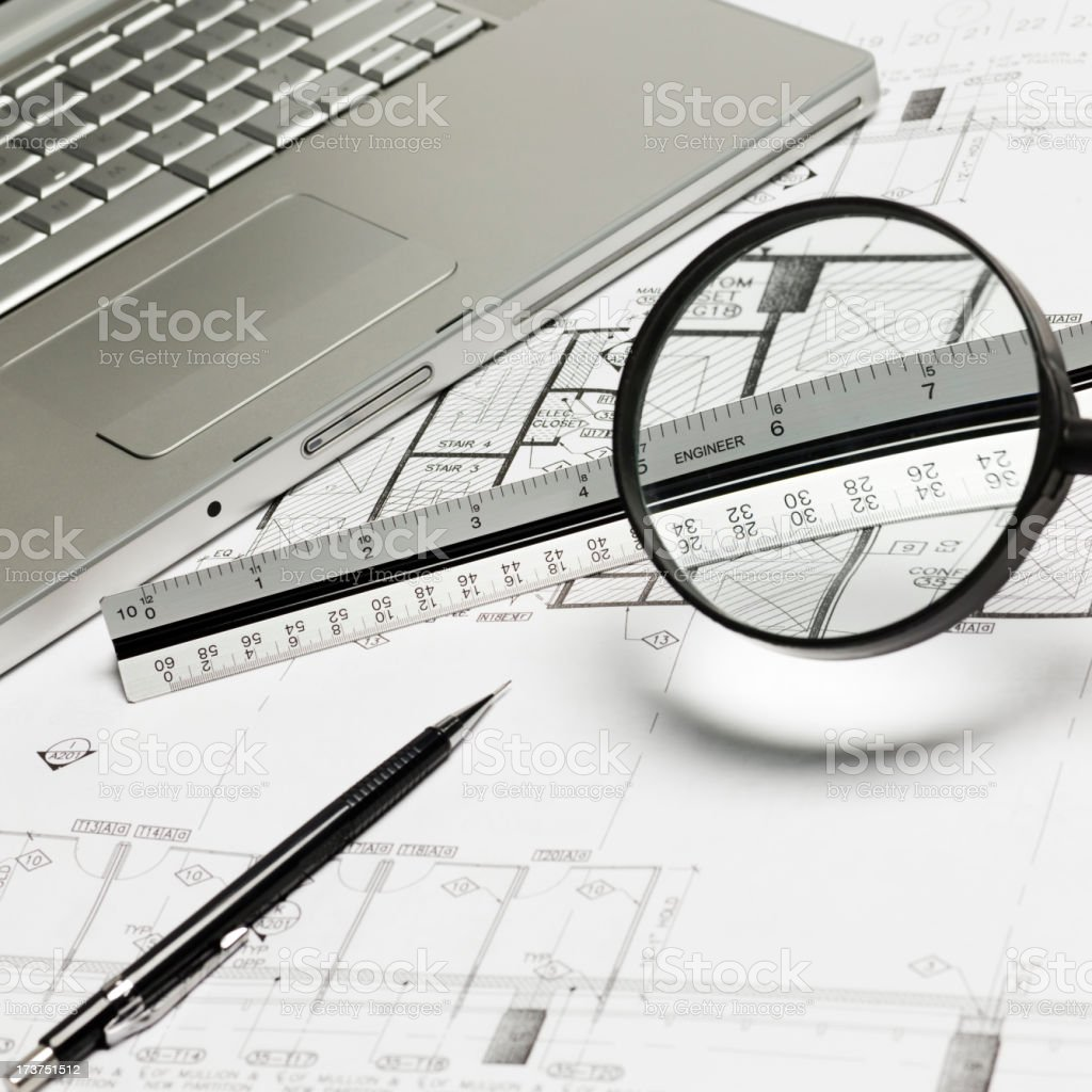 Architectural focus royalty-free stock photo
