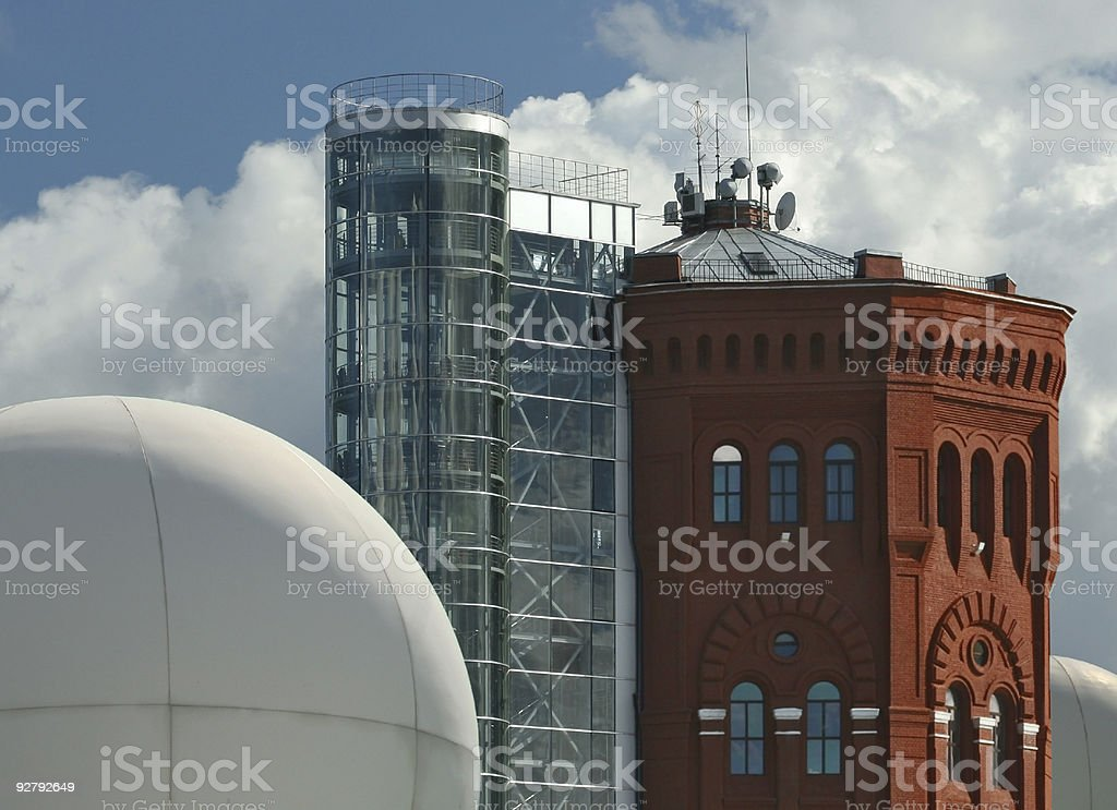 Architectural formalism stock photo