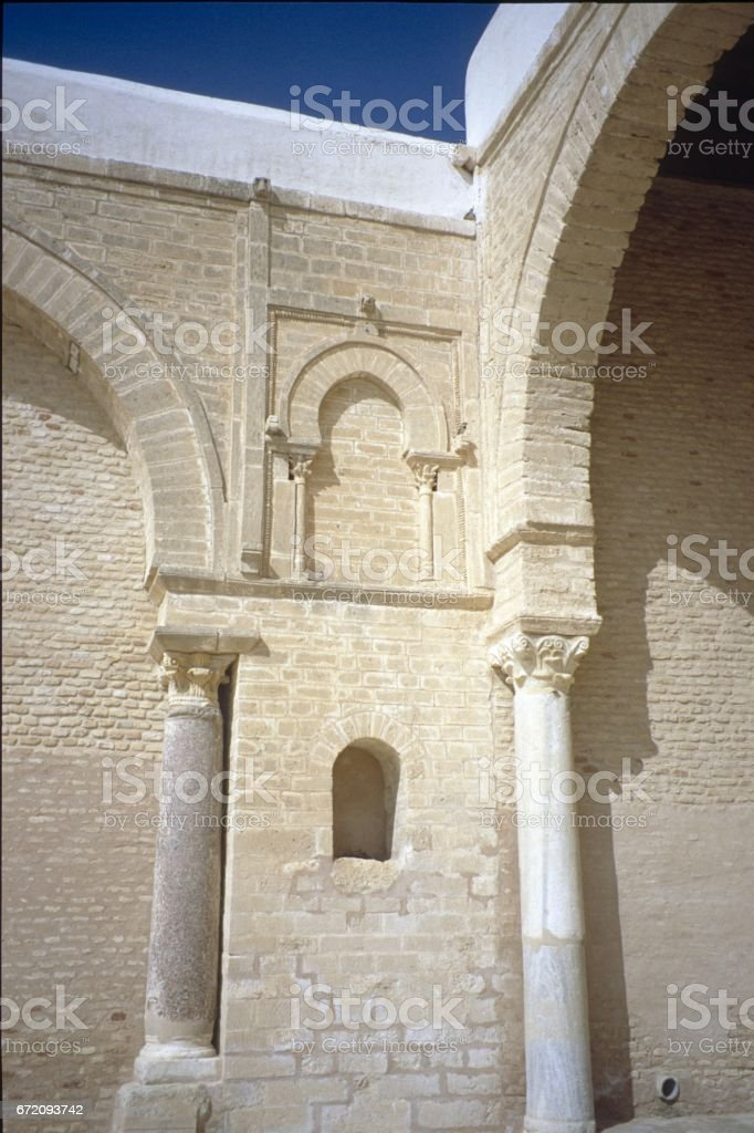 Architectural fragments, Morocco stock photo