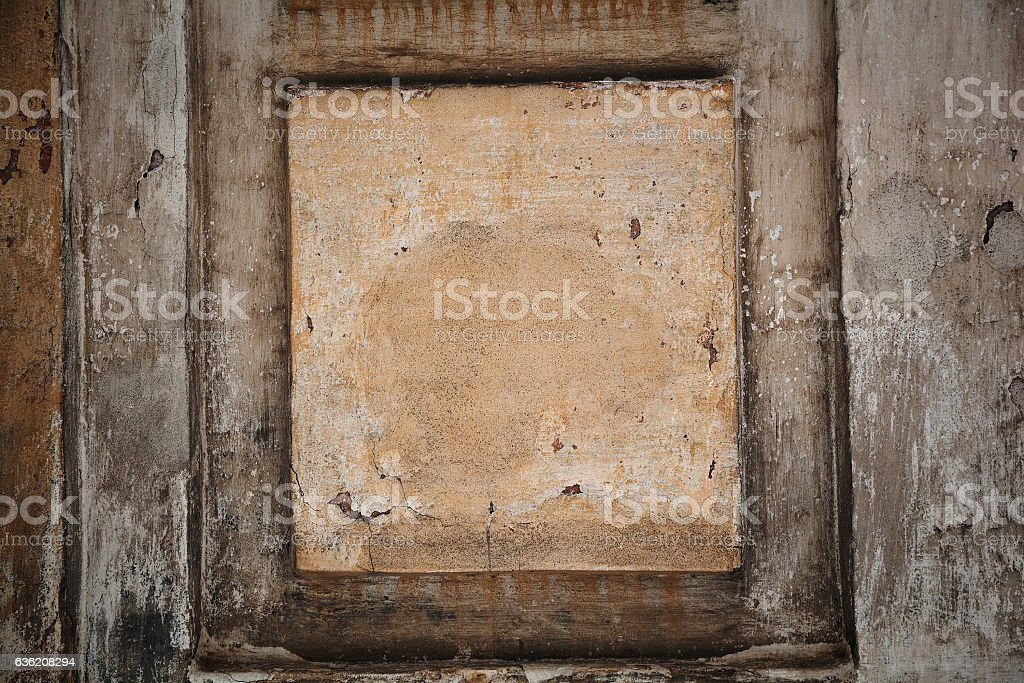 Architectural frame for backgrounds. Decorative frame. Empty space stock photo