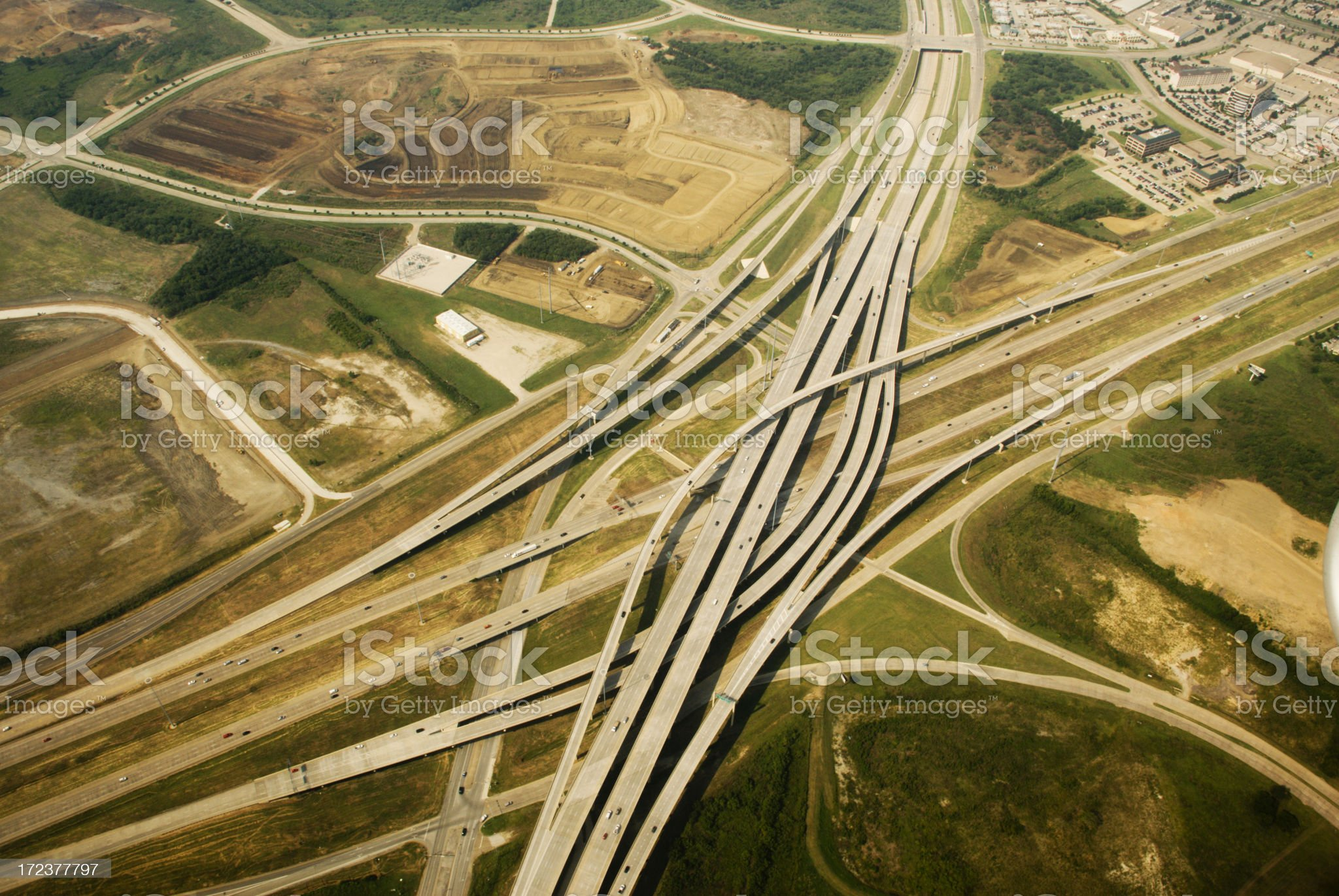 Architectural Highway royalty-free stock photo