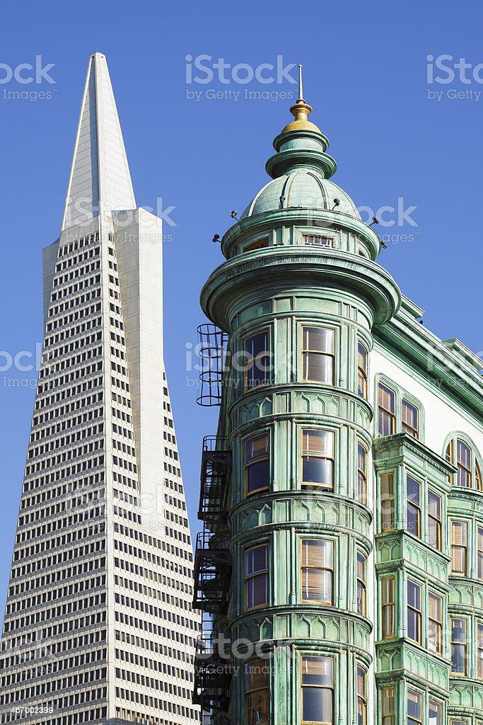 Architectural Icons - San Francisco royalty-free stock photo