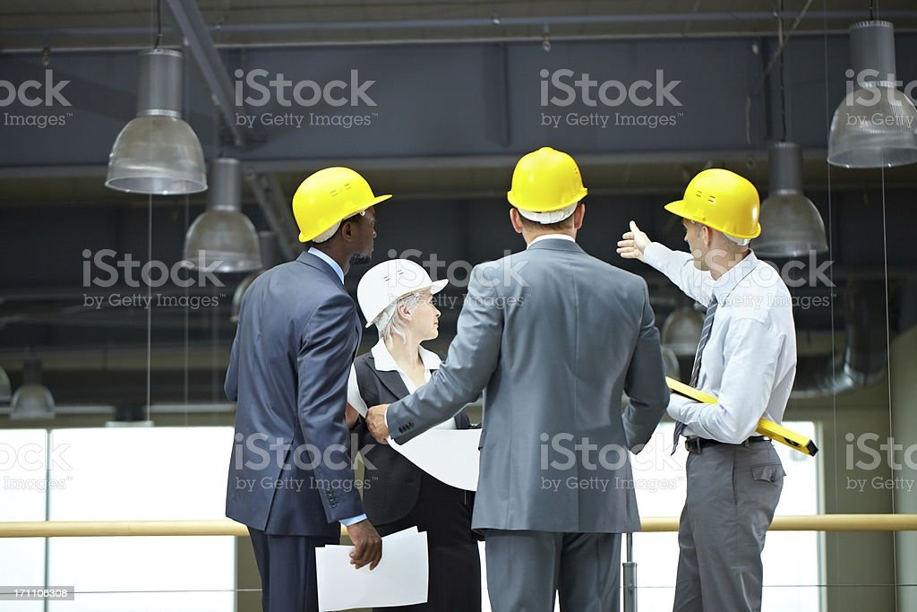 Architectural inspection royalty-free stock photo