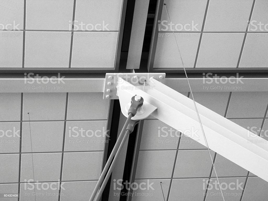 architectural interior stock photo