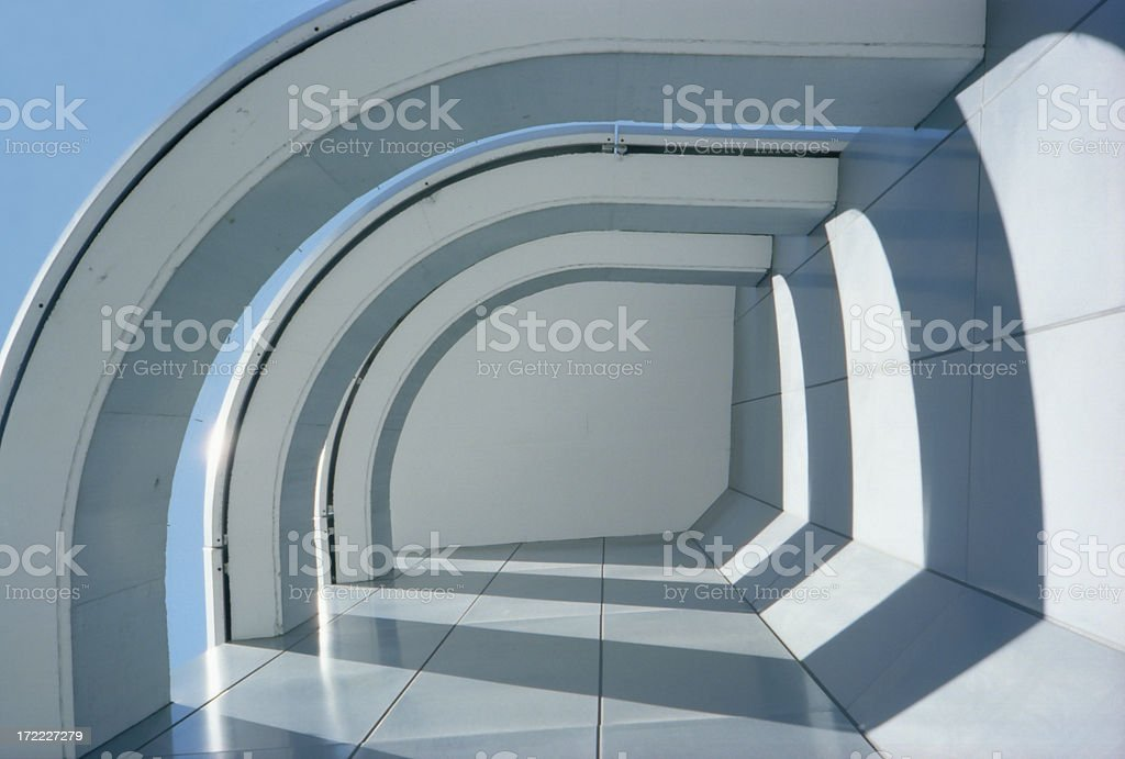 Architectural Light royalty-free stock photo