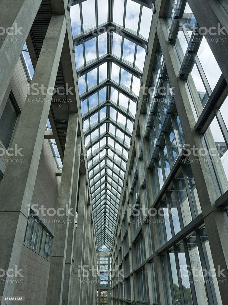 Architectural masterpiece stock photo