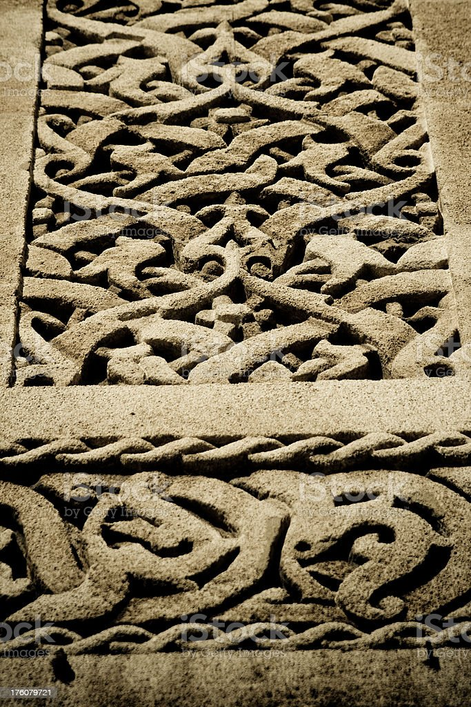 Architectural ornate of Morocco royalty-free stock photo