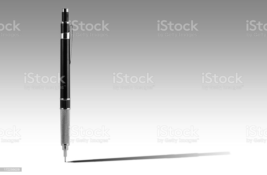 Architectural pencil royalty-free stock photo