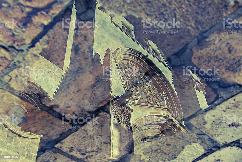 Architectural Reflection royalty-free stock photo