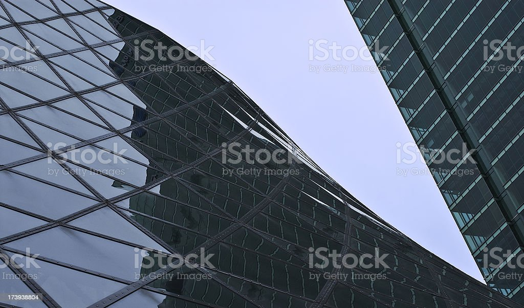 Architectural Reflections stock photo