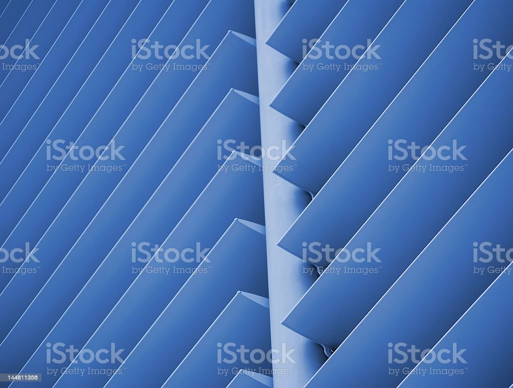Architectural slats royalty-free stock photo