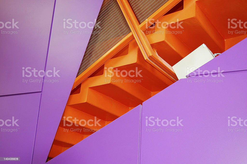 Architectural stairs royalty-free stock photo