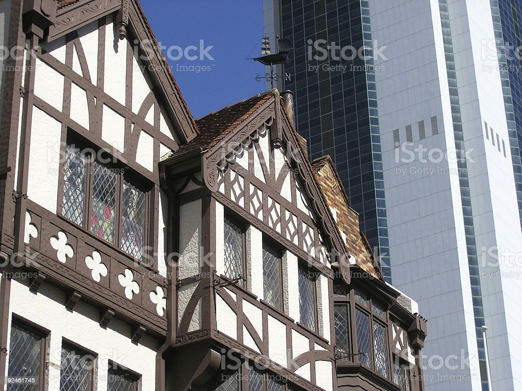 architectural styles royalty-free stock photo