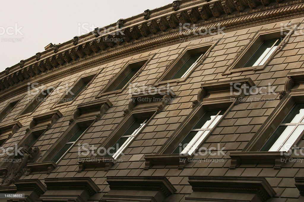 Architectural Windows royalty-free stock photo