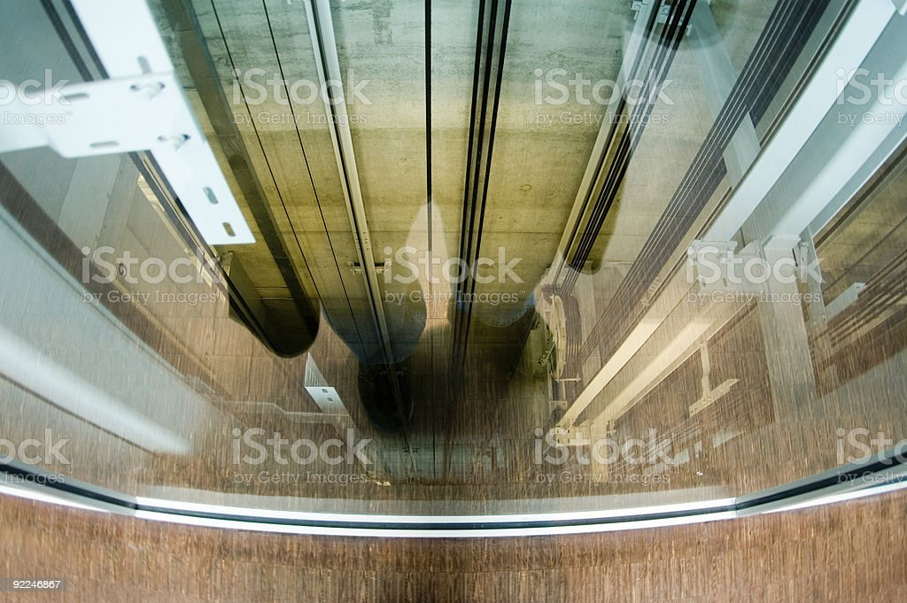 Architecture - Abstract Reflection royalty-free stock photo