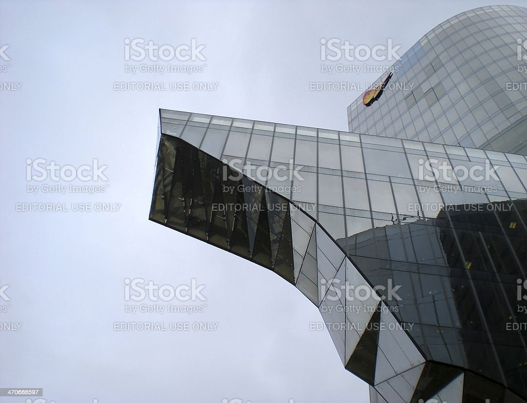 Architecture against Gravity stock photo