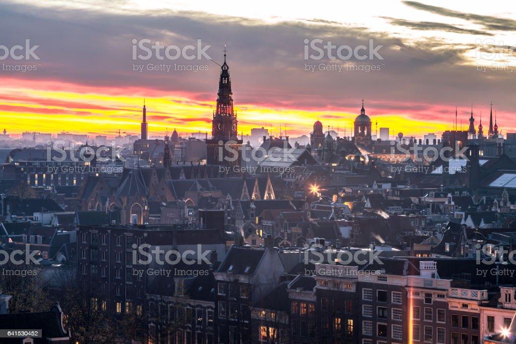 Architecture Amsterdam stock photo
