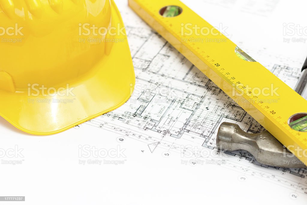 Architecture and building concept royalty-free stock photo