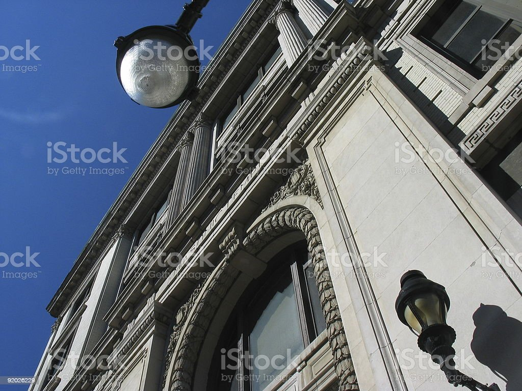 Architecture Angles royalty-free stock photo
