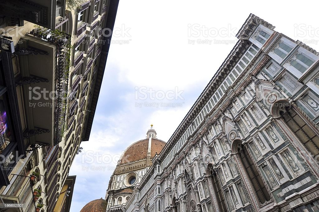 Architecture & Art of Florence  Italy royalty-free stock photo