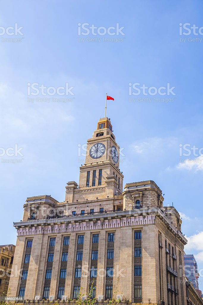 Architecture at the Bund royalty-free stock photo