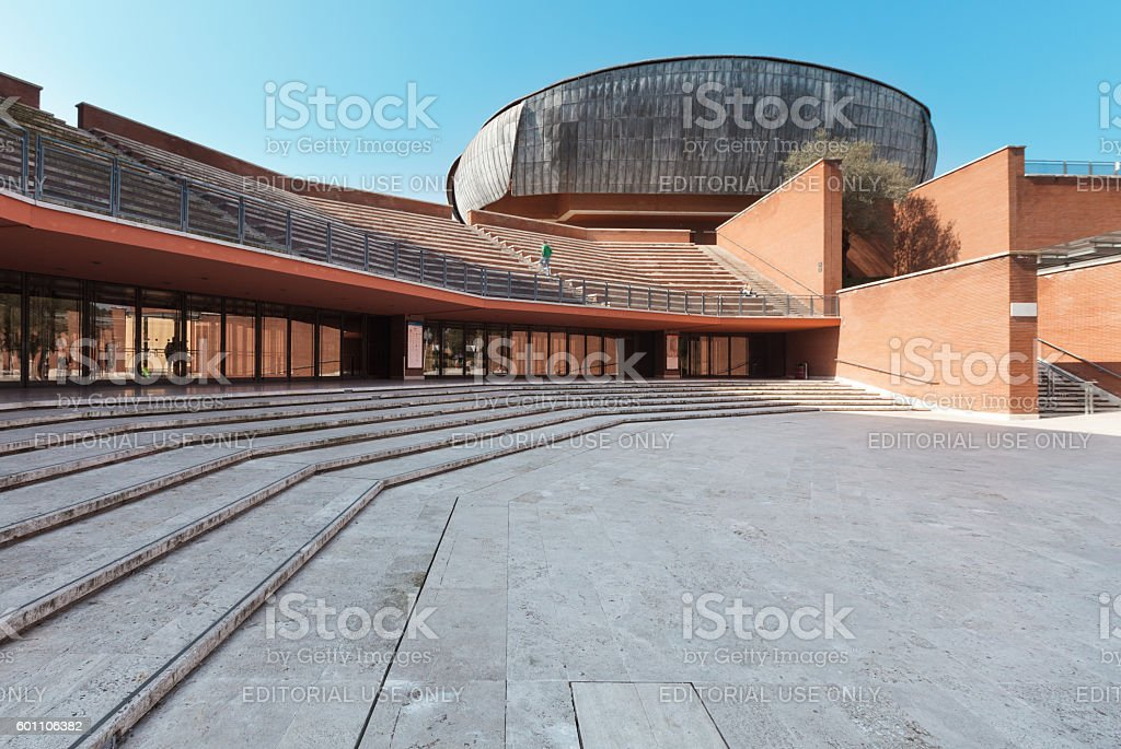 Architecture, auditorium stock photo