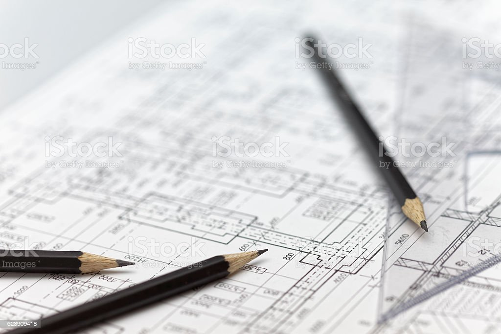 Architecture background stock photo