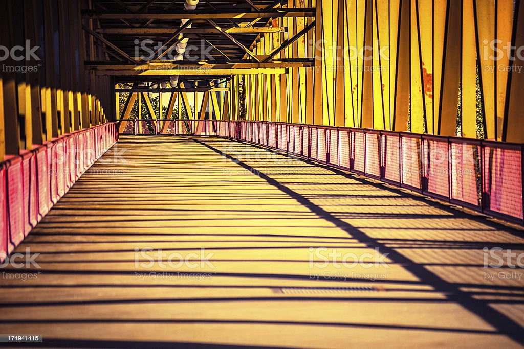 Architecture, Bridge royalty-free stock photo