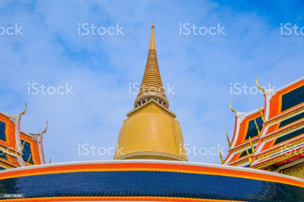 Architecture Buddhist pagoda stock photo