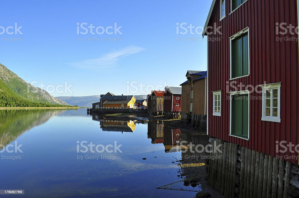 Architecture by the sea. stock photo