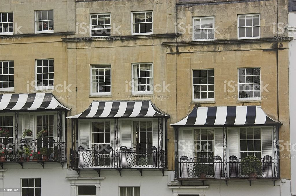 UK Architecture Clifton stock photo