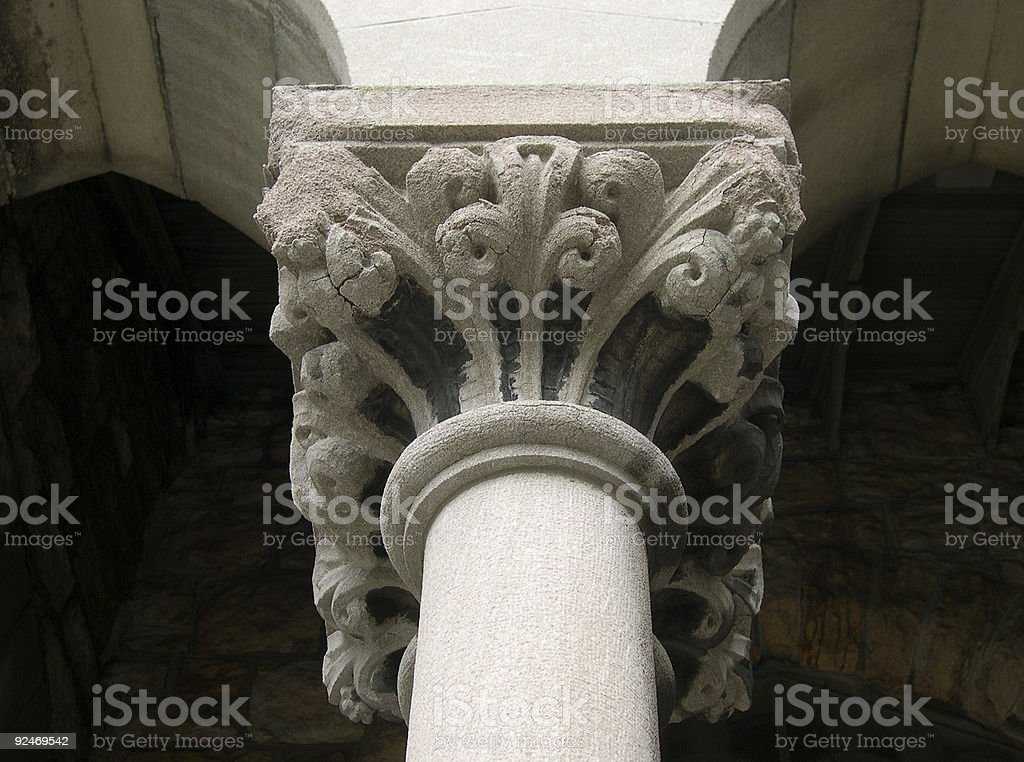 Architecture Column royalty-free stock photo