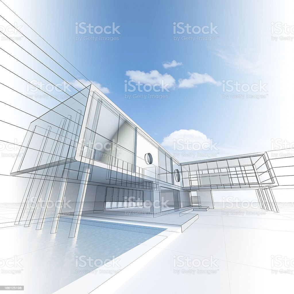 Architecture construction royalty-free stock photo