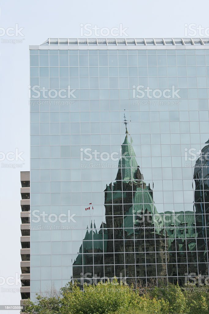 Architecture contrast (3) royalty-free stock photo