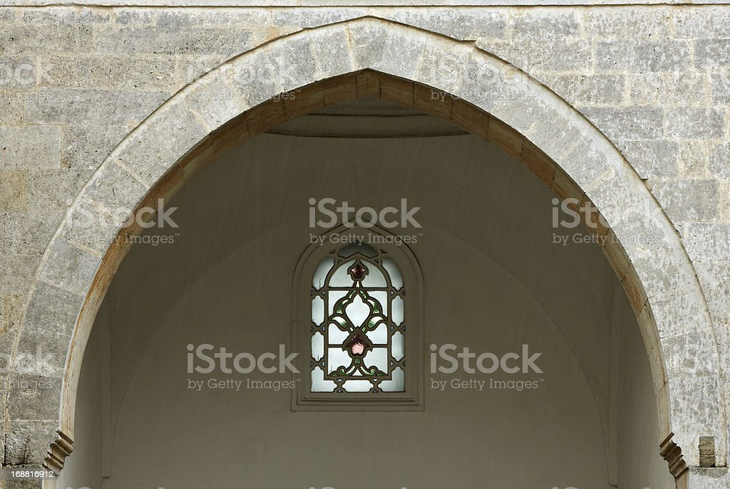 Architecture detail arch stock photo