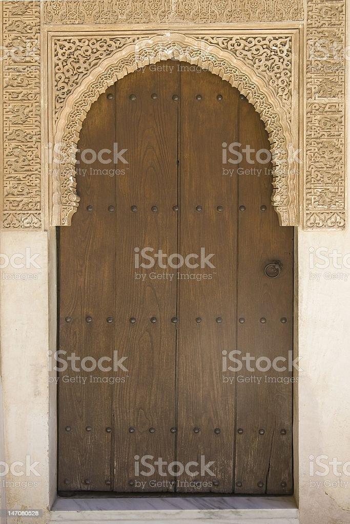 Architecture detail - Granada royalty-free stock photo