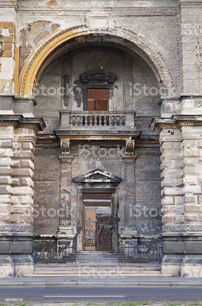 Architecture - Door royalty-free stock photo