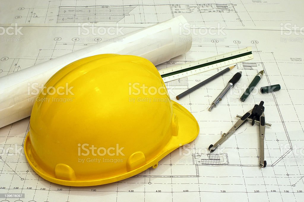 Architecture & Engineering royalty-free stock photo