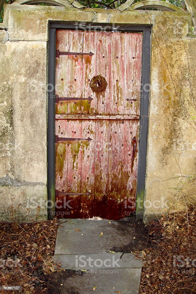 Architecture - Euro Style Doorway - House stock photo