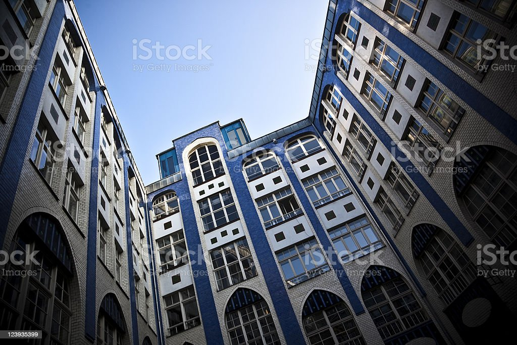 Architecture in Berlin royalty-free stock photo
