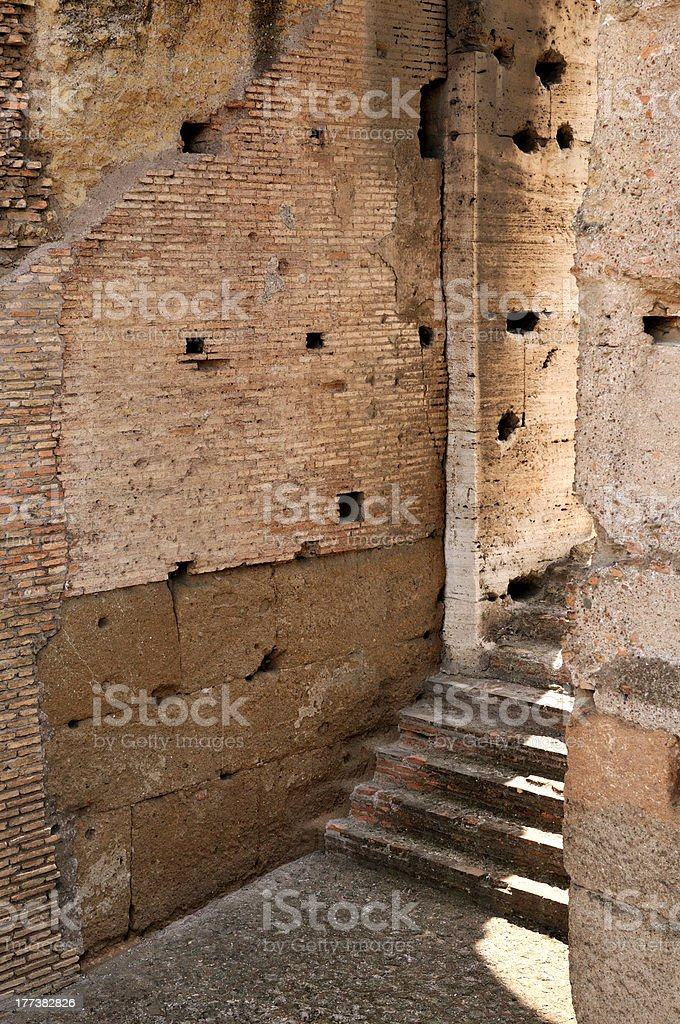 architecture in detail royalty-free stock photo